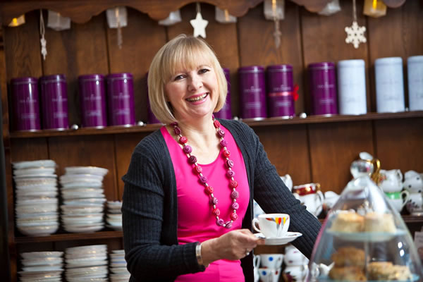 Nerys Howells will be cooking at our food festival this year.